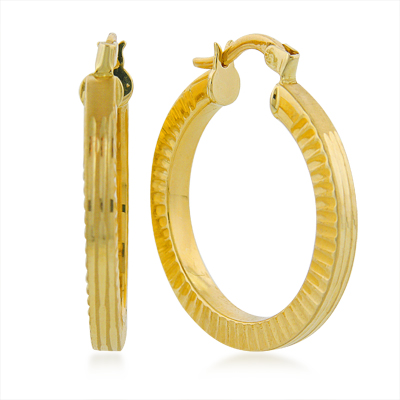 All time favorite fashion items: Classic gold and silver hoop earrings