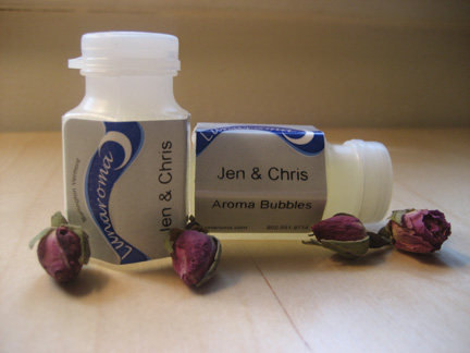 Aromatherapy Wedding Bubbles