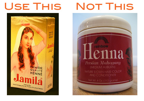 Home Spa Treatment:  Henna Your Hair