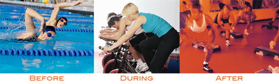 Do You Prefer Working Out Before, During or After Work/School?