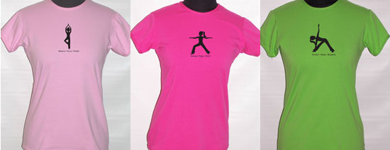 Get Your Butt in Gear: Cute Yoga Tees