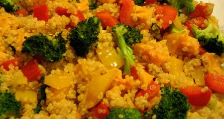 Quinoa and Sweet Potato Stuffing