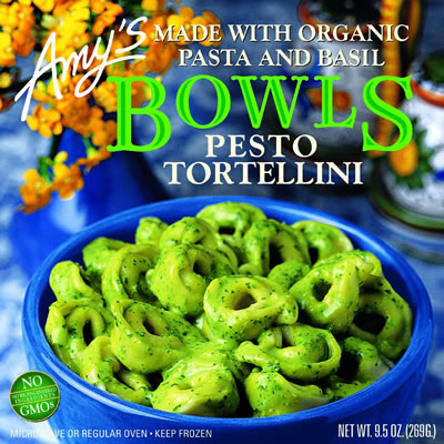 Amy's Bowls: Pesto Tortellini