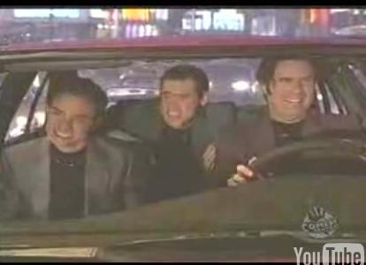 Jim Carrey Joins the Night At Roxbury Guys