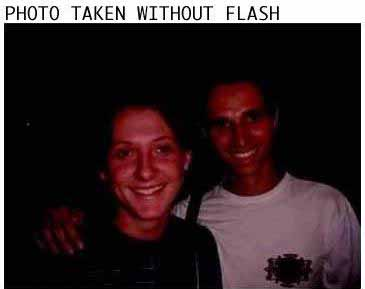 Before and After: Photo With and Without Flash