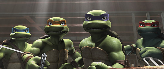 TMNT Tops the Weekend Box Office