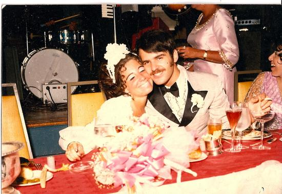 My Mom & Dad on their wedding day.
