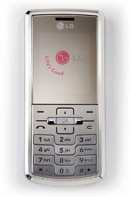 LG Shows Off 'Candybar' Shine Phone