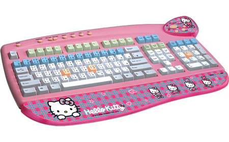 Hello Kitty Wireless Keyboard Hello Kitty Usb Keyboard