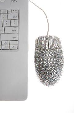 Super Sparkly Computer Mouse
