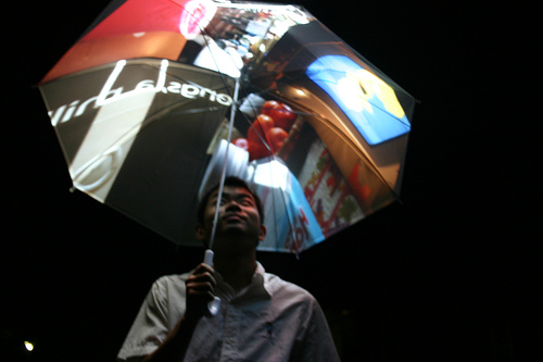 Techie Umbrella: Internet, Photos And GPS