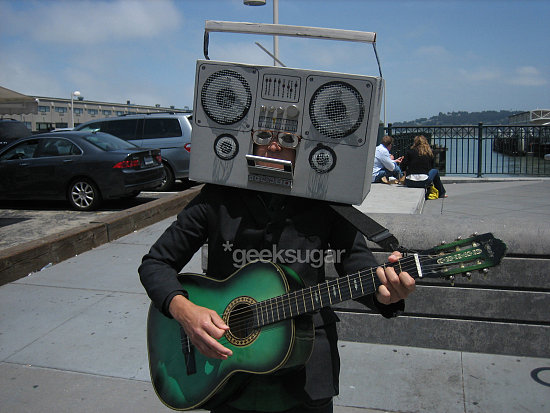 The Dually Talented Human Ghetto Blaster