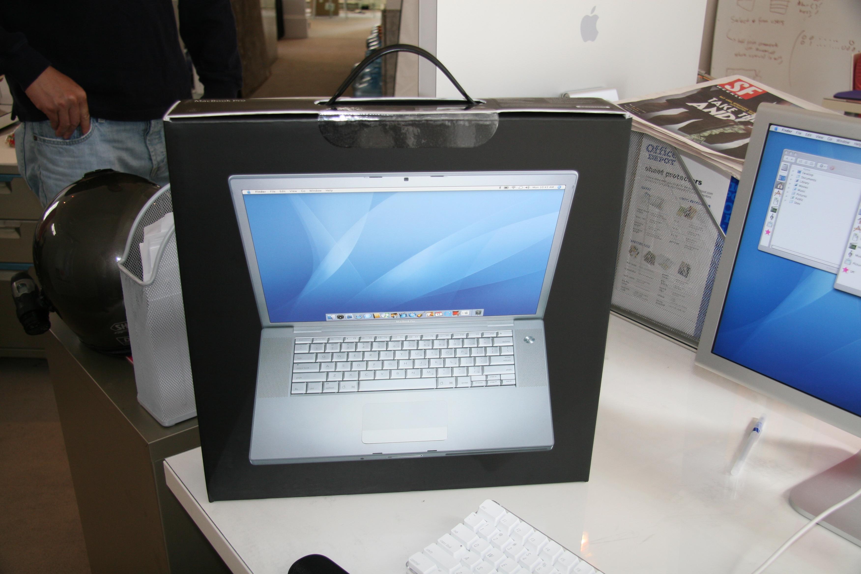 New Mercury Free MacBook Pro Unboxed!