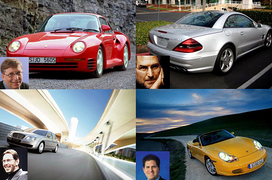 Cars Of Famous Computer Geeks