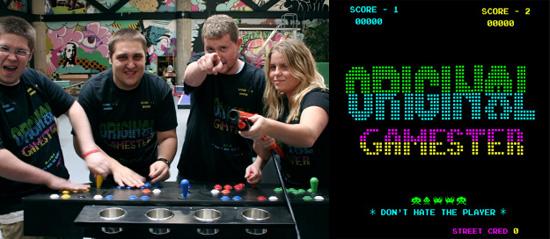 Geek Apparel: New 'Original Gamester' Tee Shirt