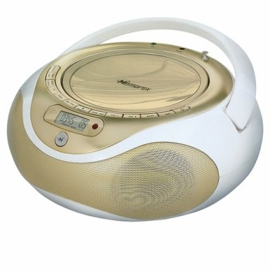 Luxurious Gold CD/MP3 Player By Memorex