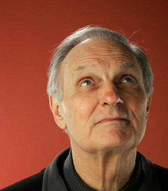 Alan Alda Uses His iPod For Work
