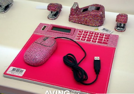 Love It or Leave It? Bling Desk Accessories