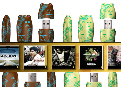 Universal Music to Offer Tunes on USB Drives