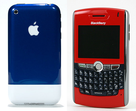Custom-Colored Cell Phones: Totally Geeky or Geek Chic?