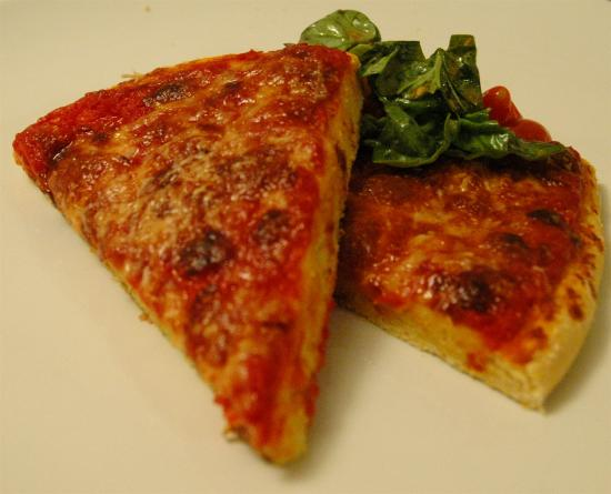 52 Weeks of Baking: Four Cheese Pizza with Cornmeal Crust