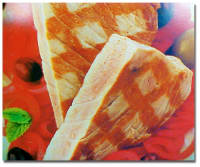 Sunday BBQ: Grilled Tuna with Sweet Onions & Garlic