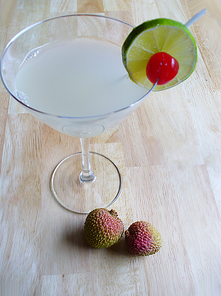 Yummy Link: Lychee & Lime Martini