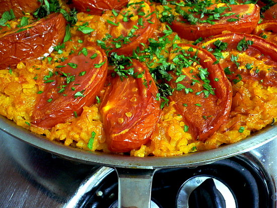 Yummy Link: Mark Bittman's Tomato Paella