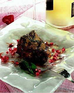 Sunday BBQ: Pomegranate Grilled Lamb Chops