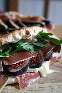 Yummy Link: Fig and Parma Ham Sandwich