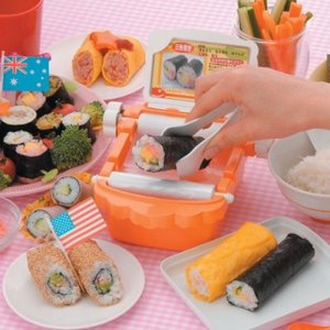 New Machine Turns Sushi Rolling Into Child's Play