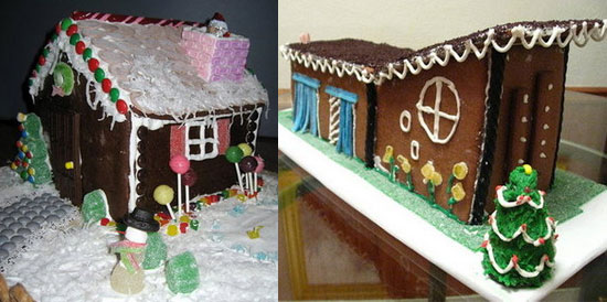 Which Gingerbread House Do You Prefer?