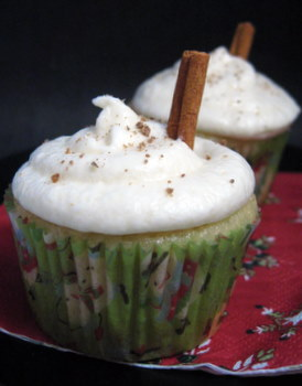 Cupcake of the Week: Eggnog Cupcakes