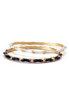 Kenneth Jay Lane Small Bangle Bracelet