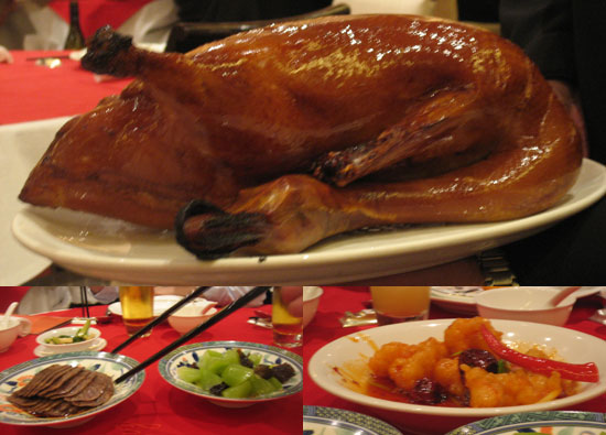 Savory Sights: Peking Duck