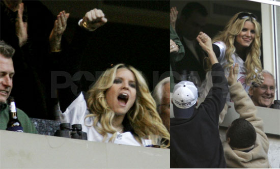 Jessica Simpson Gets Riled Up For Her Cowboy