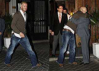 Becks Hugs Madrid and Gets Back to Xmas in England