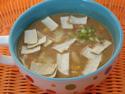 Today's Special: Vegetarian Tortilla Stew