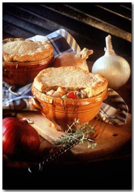 Today's Special: Salmon Potpies