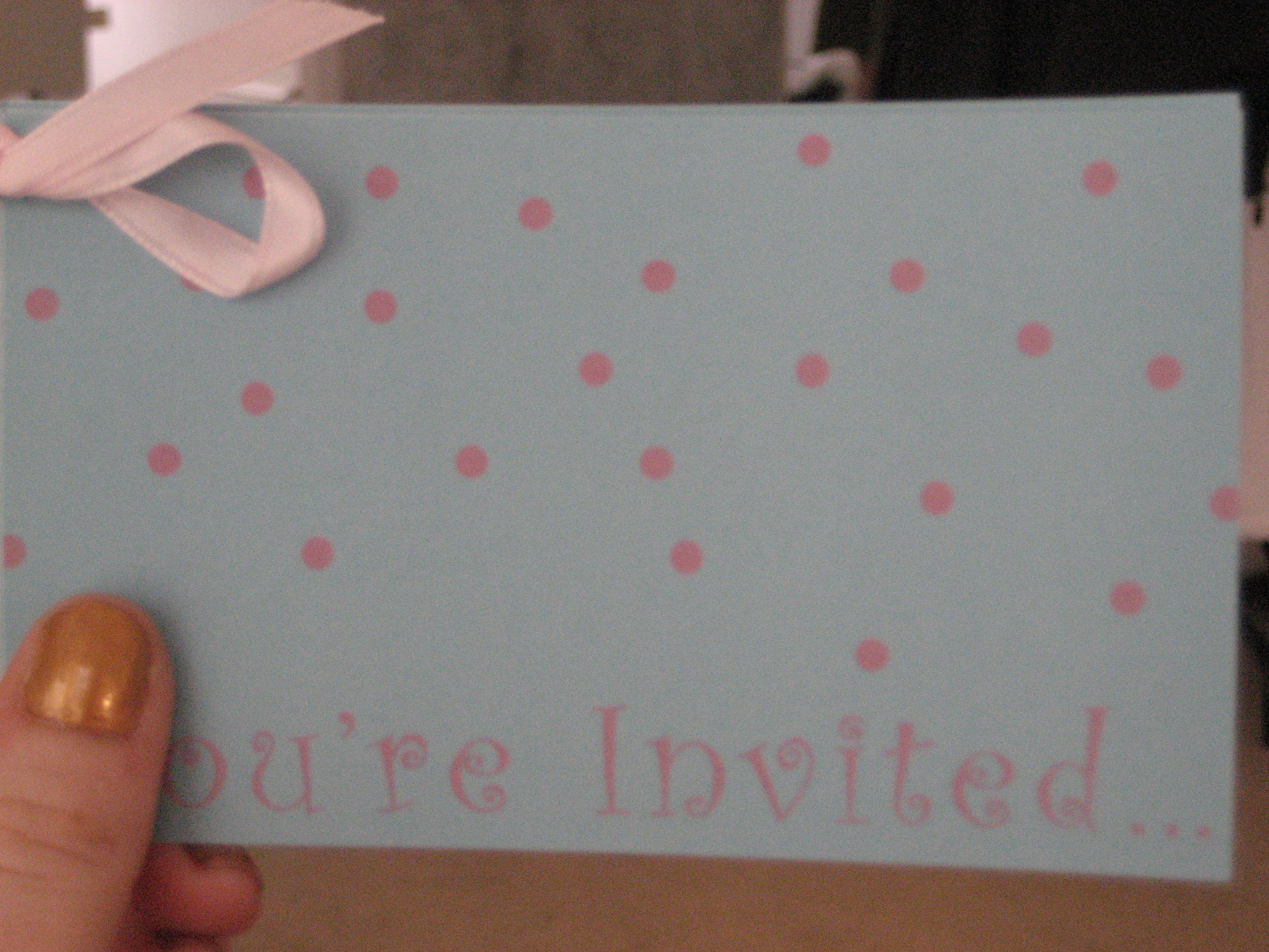 Come Party With Me: Baby Shower - Invites