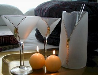 Zipper Martini Glasses: Love It Or Hate It?