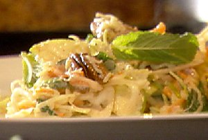 Side Suitable For A BBQ: Cole Slaw