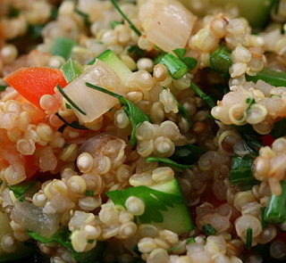 Try Something New Side: Quinoa Salad With Mangos & Walnuts