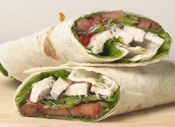 Fast & Easy Dinner: Chicken Caesar Salad Wraps