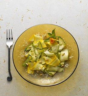 Inspired Side: Salad With Zucchini & Pecorino