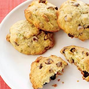 Sneak Vegetables In  Zucchini Cookies