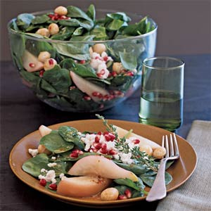 Fall Side: Pear Salad