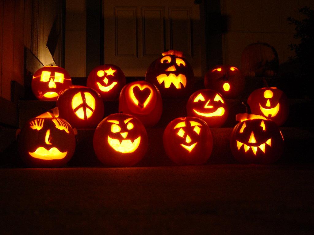 Pumpkin carving party popsugar food
