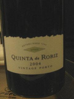 Happy Hour: Quinta de Roriz 2004 Vintage Port