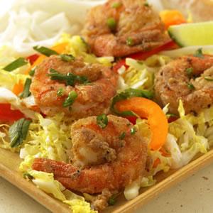 Fast & Easy Dinner: Salt & Pepper Shrimp